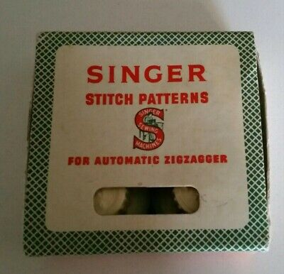Singer Stitch Patterns For Automatic Zigzagger