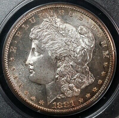 USA 1881-S PCGS MS64PL Morgan Dollar Old Green Holder (OGH) - Silver World Coin