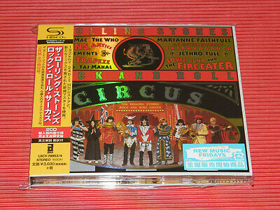 2019 Japan Only 2 Shm Cd The Rolling Stones Rock And Roll Circus Digipak