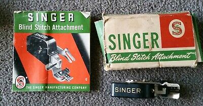 SINGER SEWING MACHINE, BLIND STITCH ATTACHMENT No. 86649