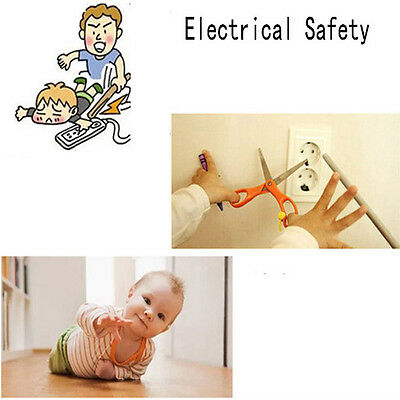 Cartoon Bear Two Phase Baby Security Product Socket Safety Cover Cap  4pcs