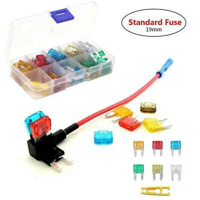 120Pcs Standard Assorted Car Fuse Blade with Clip for Boat Truck SUV Automotive