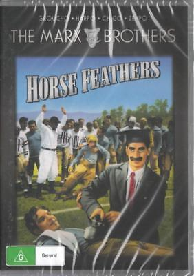 Horse Feathers - Marx Brothers - New & Sealed Dvd - Free Local Post
