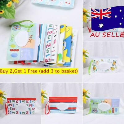Baby Product Tissue Box Wet Wipes Bag Stroller Accessories Cosmetic Pouch