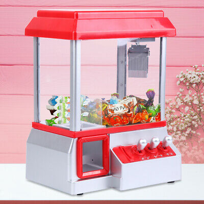 Retro Carnival Style Candy Grabber Vending Arcade Prize Machine Game Kids Toy