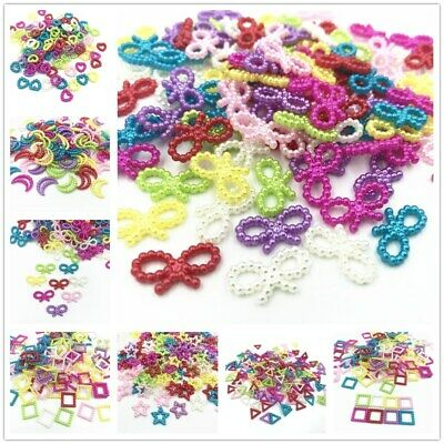 200pcs Mixed Beads Scrapbooking Decoration Jewelry Making accessories material