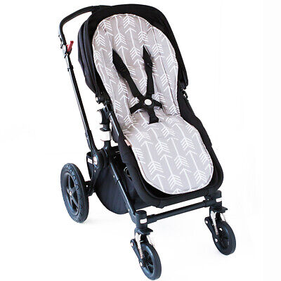 Bambella Designs Pram Liner - Universal Fit - Grey Arrow