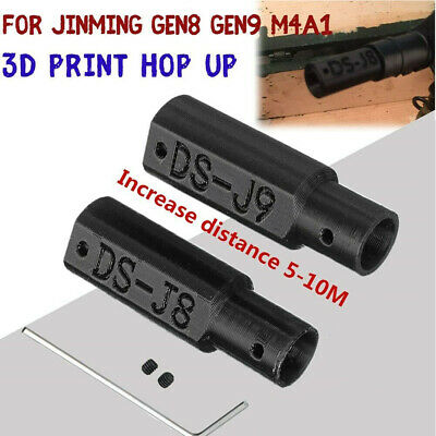 Jinming Gen8 Gen9 M4A1 Upgrade Adjustable 3D Print Hop Up Hopup Gel Ball toy New