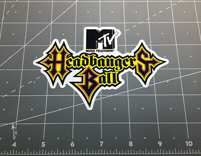 MTV MUSIC TELEVISION Old School 80's 90's full color decal