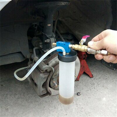 Auto Car Brake Fluid Oil Change Replacement Bleeder Empty Exchange Drained Q3