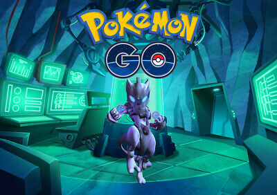 Pokemon GO Armored Mewtwo GUARANTEED Capture Lot of 15 Catches - Legendary Raid