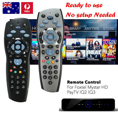 Genuine Foxtel Remote Control For PayTV IQ2 IQ3 IQ4 Mystar HD SKY New Zealand AU