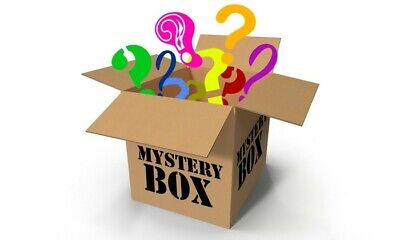 Mystery box! New electronics, clothing, consoles, games, dvds Minimum 10 Items