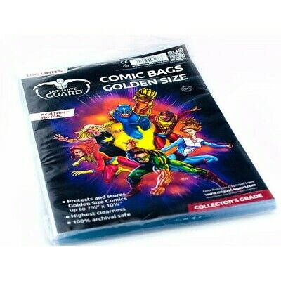 Ultimate Guard Comic Bags Golden Size (100) (1022037)