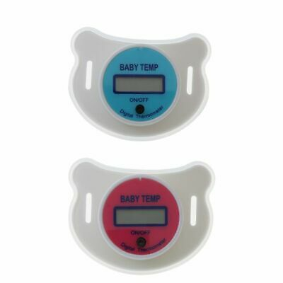 Baby Nipple Thermometer Termometro Baby Pacifier LCD Digital Mouth Nipple Hot