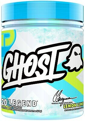 Ghost Lifestyle Preworkout CG V3 - LEMON LIME - BEST PRE-WORKOUT