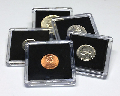 26.5 mm Lot of 50 Premium 2x2 Plastic Coin Snap Holder for SACAGAWEA DOLLAR