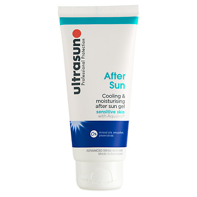ULTRASUN After Sun Cooling & Moisturising Gel 100ml SENSITIVE SKIN New & SEALED