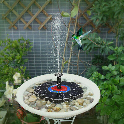 Best Selling 2019 Products Rose Solar Power Pump, Bird Bath Fountain Water
