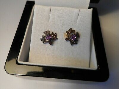 Ortak Thistle Pierced Earrings