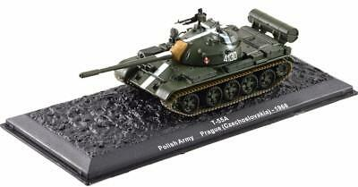 Ixo T 55A Polish Army Prague Czechoslovakia 1968 Tank 1.72 Scale Diecast Model