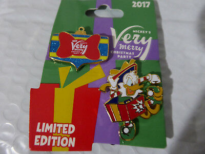 Disney Trading Pins  125405 WDW - MVMCP 2017 - Donald Duck and Ornament Set