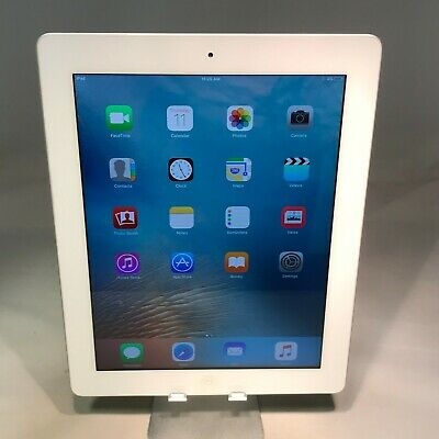 Apple iPad 3rd Generation 64GB White WiFi - Very Good Condition - Engraved
