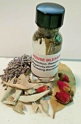 House Blessing Oil Remove Negativity Remove Obstacles Protection Hoodoo Pagan