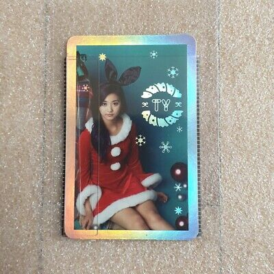 TWICE 3rd Mini Album TWICEcoaster : LANE 1' Christmas Edition Tzuyu Photocard