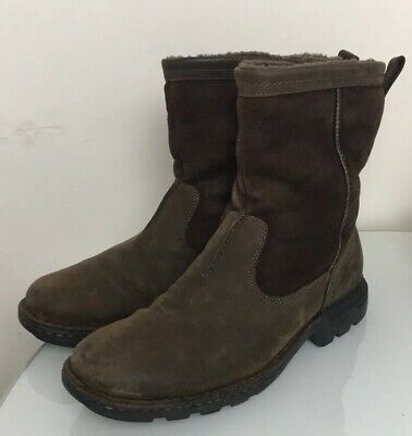 a14eb7e7b7b UGG AUSTRALIA HARTSVILLE 5626 Shearling Lining Mens Ankle Boot Shoes US 10.5