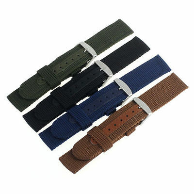 18mm - 20mm - 22mm Strap Correa Reloj Nylon Pulsera Watch band