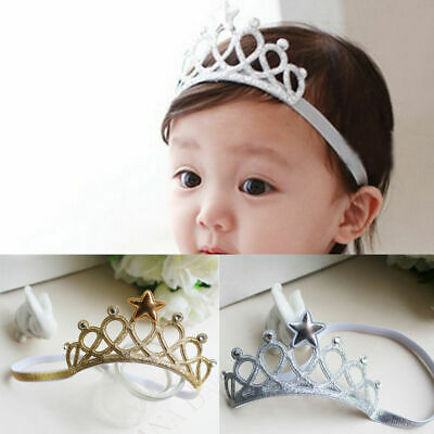 Baby Toddler Kids Girl Infant Hair Accessory Princess Crown Headband Hairbands S