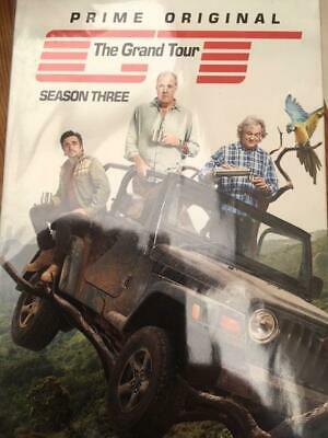 The Grand Tour Season 3 DVD Brand New & Sealed Quick 1st Class Postage