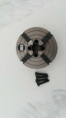 EMCO COMPACT 5 CNC PC 4 JAW CHUCK NOS Missing key