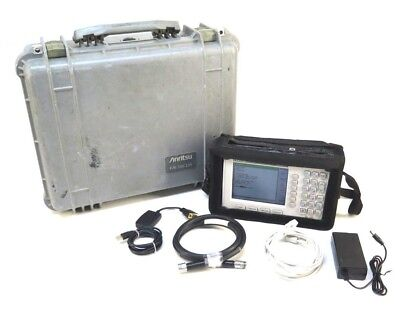 Anritsu Site Master S331D Cable/Antenna Analyzer w/ Opt 3 Color Screen