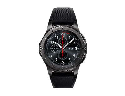 Samsung Gear S3 Frontier Black R765V Bluetooth Smartwatch (Large Band)