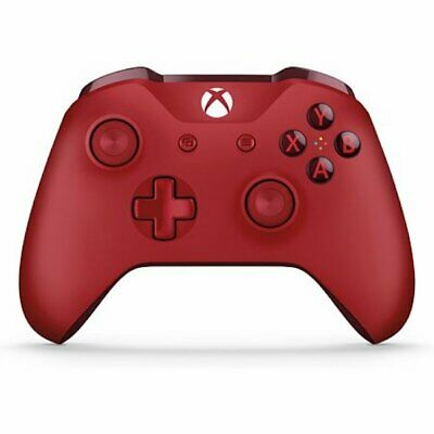 Official Microsoft Xbox One Wireless Controller Red WL3-00027