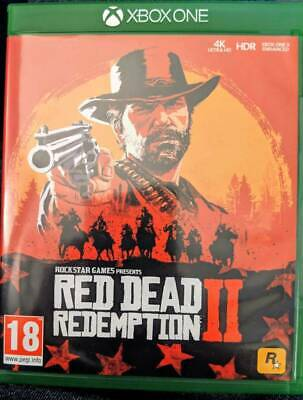 Excellent  Condition ( Red Dead Redemption 2 ) Played Once  Xbox One  Game
