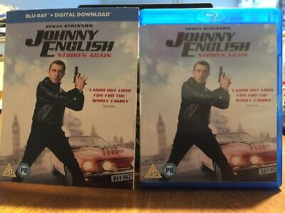 Johnny English Strikes Again [Blu-ray] Mint, Watched Once. Inc Download Code