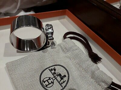 Hermes Paris napkin ring. Collectors. Ultra rare
