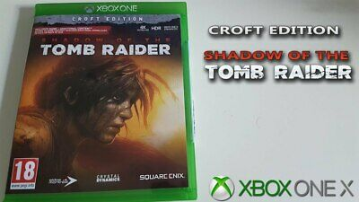 Excellent  Condition ( Shadow Of The Tomb Raider ) Croft Edition  Xbox One Game
