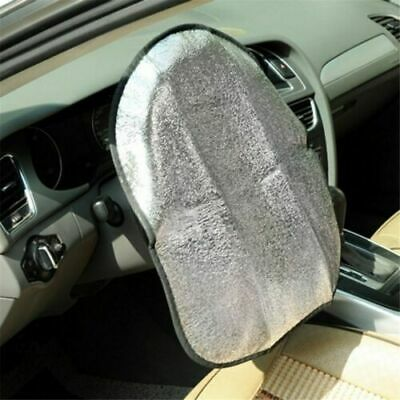 Thicken Chic Aluminum Anti Hot Automotive Auto Steering Wheel Sun Shade Cover