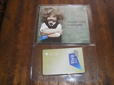 Brand New Italian TivuSat Viewing Card Pre-activated No Codice Fiscale Required