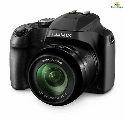 Panasonic Lumix Bridge Camera - 18.1MP 60x Optical Zoom WiFi - DC-FZ82EB-K - New