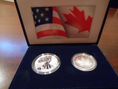 2019 US Mint, Pride of Two Nations, LE Two Coin Set, no longer available