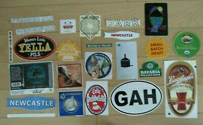 25 BEER STICKER PACK LOT decal craft beer brewing brewery tap handle 10
