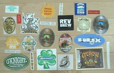 25 BEER STICKER PACK LOT decal craft beer brewing brewery tap handle 11