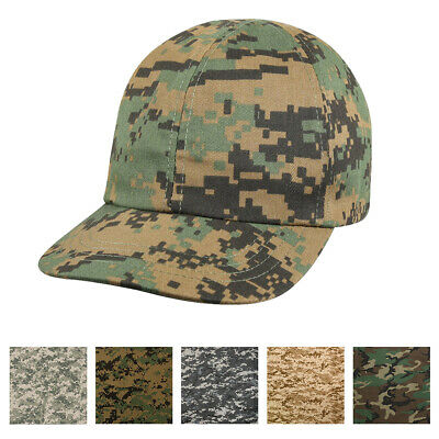 10 x Unisex Army Camouflage Camo Soldier Fancy Dress Hat Baseball Cap H06 119