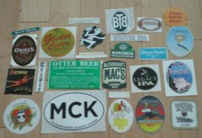 25 BEER STICKER PACK LOT decal craft beer brewing brewery tap handle 32