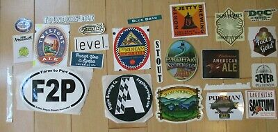 25 BEER STICKER PACK LOT decal craft beer brewing brewery tap handle 41